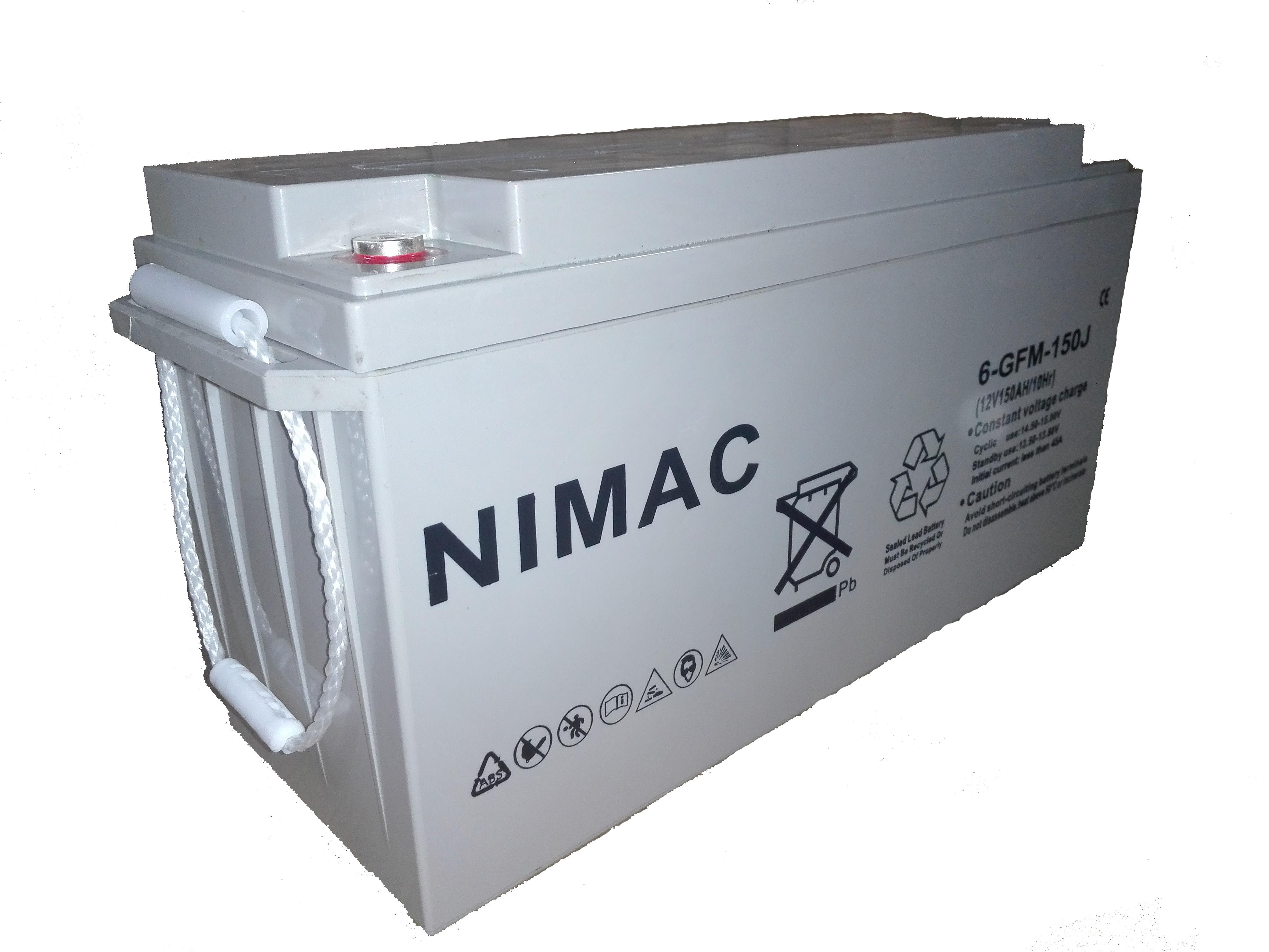 Bateria Nimac GEL, Ciclo Profundo 200 AH, 12 V